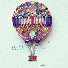 DIY好き必見!紙だけで簡単に作れるアート「ペーパークイリング」とは? | ガジェット通信