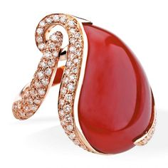 LUCA CARATI | Diamond and gemstone ring | {ʝυℓιє'ѕ đιåмσиđѕ&ρєåɾℓѕ}