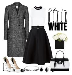 """""""Untitled #418"""" by gallant81 ❤ liked on Polyvore featuring Reiss, River Island, Vika Gazinskaya, Mark Cross, Yves Saint Laurent and Dolce Giavonna"""