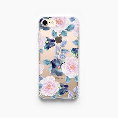 iPhone 7 Plus Case Roses iPhone 7 Case Floral iPhone 8 Case