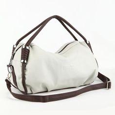 Chisato - Mens grey shoulder bag