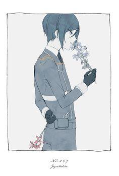 Cute Characters, Anime Characters, Manga Art, Anime Art, Mutsunokami Yoshiyuki, Touken Ranbu Characters, Ouma Kokichi, Tsukiyama, Anime Poses