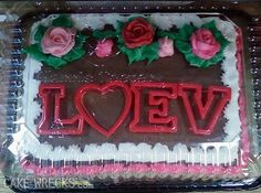 Thank you cake wrecks. Valentines Day Cakes, My Funny Valentine, Valentine Cookies, Cake Wrecks, Epic Cake Fails, Epic Fail, Cakes Gone Wrong, Cake Disasters, Thank You Cake