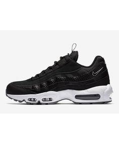 Nike Air Max 95  Pull-Tab  Black White 93a4523e7