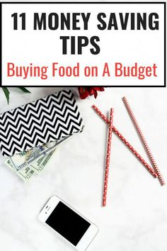Money Saving tips. Want to save money on food. Here are 11 simple saving money tricks that you can do to stretch your monthly budget. #personalfinance #moneysavingtips #budgeting101 #frugal #budgetbinder