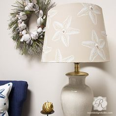 Celebrate summer all year long... the sun, sand, and long days at the beach, with our Starfish Stencil! This starfish wall art stencil is perfectly sized for craft, fabric and furniture DIY stencil pr