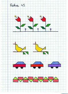 Graph Paper Drawings, Graph Paper Art, Drawing For Kids, Art For Kids, Notebook Drawing, Bullet Journal For Beginners, Pixel Drawing, Weaving Designs, Fall Preschool