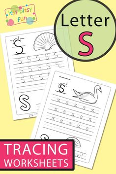 Free Printable Letter S Tracing Worksheets for Kids