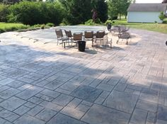 Real Help Custom Concrete Company of Buffalo and Western New York is local, licensed, and insured. We specialize in all flatwork. View our stamped concrete gallery! Poured Concrete Patio, Stamped Concrete, Patio Design, Backyard Patio, Buffalo, Outdoor Decor, House, Ideas, Home