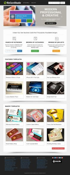 556 best business card templates images on pinterest business card make your own business cards online from creative templates solutioingenieria Image collections