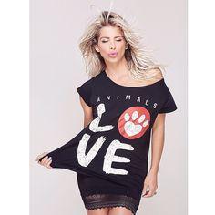 Bom Dia !!!!!  #animallover confiram no insta as camisetas da @animalslovestore . Parte da renda dessas lindezas são destinadas a Associações protetoras de animais abandonados   #karinabacchi #KARINAINDICA ANIMALSLOVE.COM.BR by karinabacchi