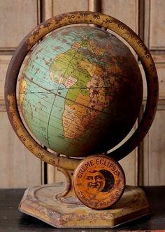 Old world globe...