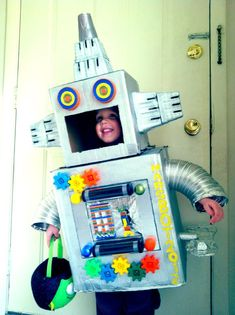 57 best cardboard robots images cardboard robot robots robot rh pinterest com