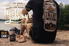 Sit back and Relax with Uncle Johnny's Swamp Honey - http://www.cottonfreaks.com/wp-content/uploads/2015/07/ea2e5a02-5c12-4a8d-989c-706b4963f8d7-1-1024x682.jpg