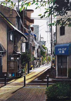 Tokyo Sketch, el arte de dibujar Tokio | OLDSKULL