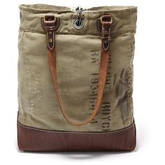 Fossil Vintage Archive Tote Bag ($350) ❤ liked on Polyvore