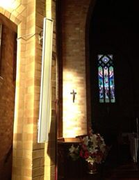 Paul's in Manuka Canberra benefits from a new integrated ALA system Ch Sound, Anglican Church, Loudspeaker, Audio System, Box Design, Candle Sconces, Acoustic, Cathedral, Acting