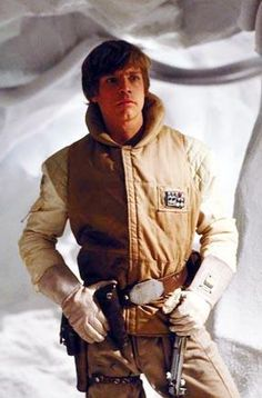 Luke Skywalker (Mark Hamill) - Star Wars: Empire Strikes Back Star Wars I, Film Star Wars, Mark Hamill Luke Skywalker, Star Wars Luke Skywalker, Chewbacca, Star Wars Brasil, Star Wars Costumes, Original Trilogy, The Empire Strikes Back