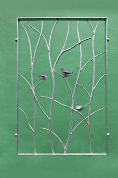 Leafy Steel Door Gates Doors Pinterest Steel Doors