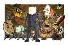 Terror Time Horror & Adventure Time Crossover by MikeGoesGeek