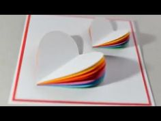 DIY - Como fazer cartão 3D para o DIA DOS NAMORADOS