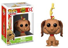 Funko- Dr Seuss Figurines Pop Vinyle: Books Grinch: Max The Dog, Multicolore, Standard Film Le Grinch, O Grinch, The Grinch Movie, Grinch Stole Christmas, Funko Pop Dolls, Funko Pop Figures, Pop Vinyl Figures, Funko Toys, Kawaii
