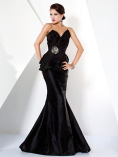 Beautiful Mermaid Evening Gown 9723
