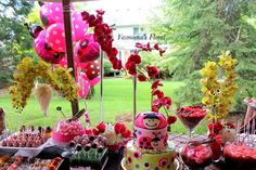 Yasmeena's Floral: Lady Bug Theme Baby Shower
