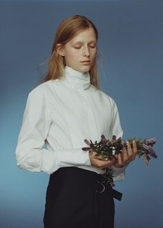 On White Shirts & Wild Flowers for T Magazine,The New York Times Style Magazine