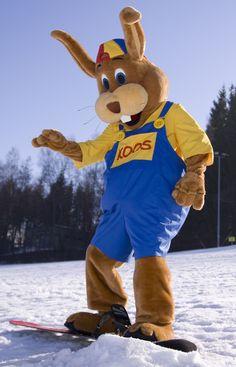 Koos Konijn trekt er ook in de winter graag op uit.