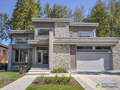 25 Best Outside Wall Art Design Ideas for Exterior Home House Wall Design, Stone Wall Design, Modern House Design, Contemporary House Plans, Modern House Plans, Modern Exterior, Exterior Design, Outside Wall Art, Modern Style Homes