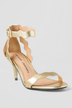 Francesca's scalloped heels