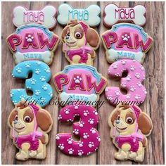 15 Trendy birthday party decorations for adults decor for kids Girl Paw Patrol Party, Paw Patrol Birthday Theme, Birthday Party Decorations For Adults, Adult Birthday Party, Birthday Ideas, Skye Paw Patrol Cake, Paw Patrol Cupcakes, Pink Happy Birthday, Third Birthday
