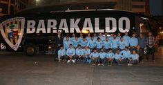 Fútbol | Un autobús llevará el nombre 'Barakaldo' en los desplazamientos del club de fútbol