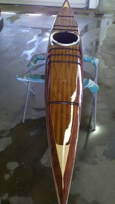 beautiful deck on this Petrel kayak by Glenn Witgen, via Flickr