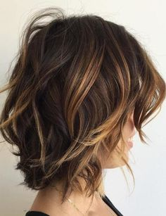 Different Stunning Hair Color Shade for Short Hairstyle Ideas