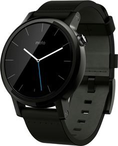 Motorola Moto 360 2nd Gen (42 mm) for Men Black Leather Smartwatch on November 12 2016. Check details and Buy Online, through PaisaOne.