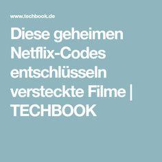 Diese geheimen Netflix-Codes entschlüsseln versteckte Filme | TECHBOOK