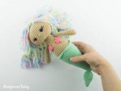 Amigurumi Aurora Mermaid - Free crochet pattern