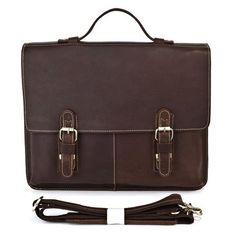 "ModernManBags.com - ""Kharkov"" Men's Top Grain Leather Laptop Portfolio Briefcase, $99.99 (http://www.modernmanbags.com/kharkov-crazy-horse-leather-mens-messenger-bag-briefcase/)"