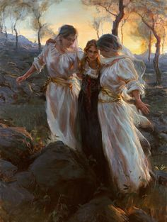 'Hinds' Feet on High Places'  by Daniel Gerhartz