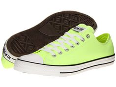 Converse Chuck Taylor® All Star® Washed Neon Ox Neon Orange - Zappos.com Free Shipping BOTH Ways