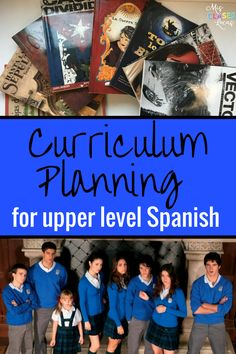 Curriculum Planning for Upper Level Spanish    I recently had a request for a post about curriculum planing for upper level Spanish. As you...