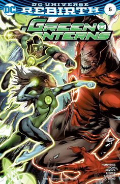 Green Lanterns (2016) #5 #DC @dccomics #GreenLanterns (Cover Artist: Jay Leisten, Rod Reis & Robson Rocha) Release Date: 8/17/2016