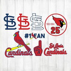 Your place to buy and sell all things handmade St Louis Cardinals Baseball, Stl Cardinals, Stencil Vinyl, Stencils, Printed Materials, Cricut Design, Saints, Custom Design, Clip Art