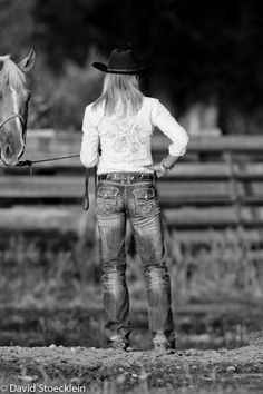 @Jessica Miller. See, cowgirls do wear $150 Rock Revivals ;p
