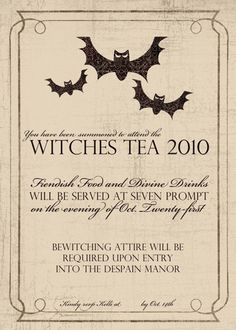 Cute Halloween Invitation