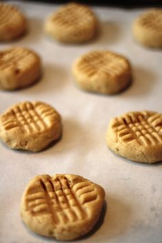 Old-Fashioned Chewy Peanut Butter Cookies (Americas test kitchen recipe)