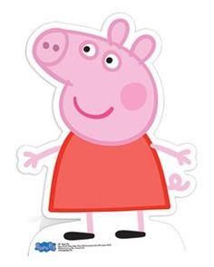 Peppa Pig Kartonnen Figuur - 80 cm