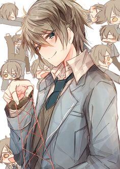 Hot Anime Guys, Cute Anime Boy, Anime Oc, Star Character, Character Design, Akatsuki, Mika Kagehira, Boy Illustration, Sad Art